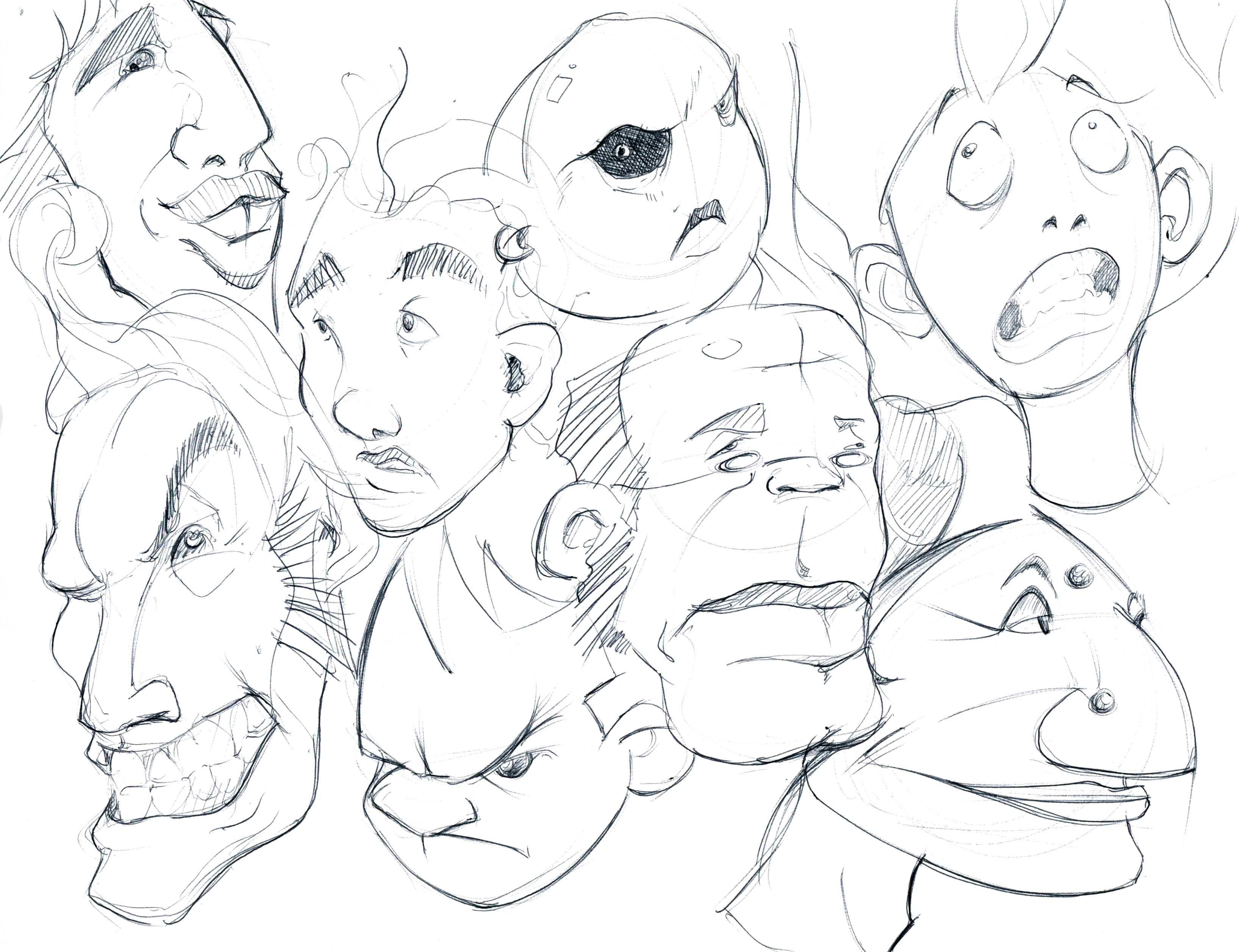 Lineweights making contact with paper page 31 for Crazy stuff to draw
