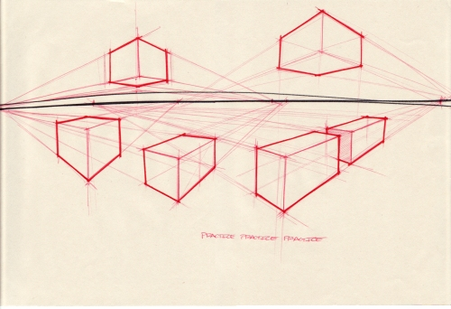 box perspective exercise