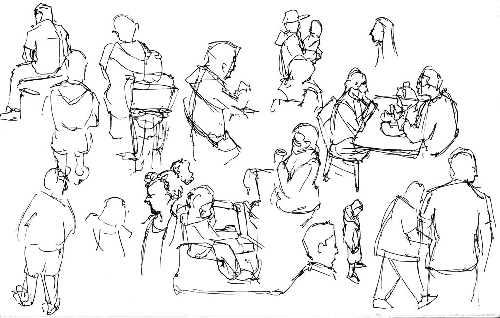 drawing mall sketch figure understanding ways sketching drawings study pencil lineweights related